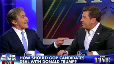 Geraldo Rivera Threatens To KNOCK OUT Eric Bolling