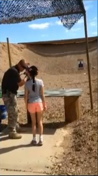 Girl 9 KILLS Shooting Instructor With UZI THE VIDEO