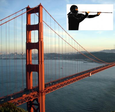 Golden Gate Bridge blow darts 400x390 Someone Is Shooting People With BLOW DARTS On The Golden Gate Bridge