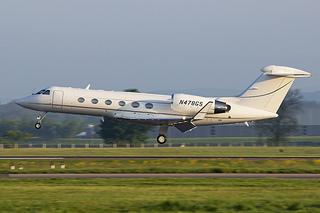 Gulfstream IV aircraft