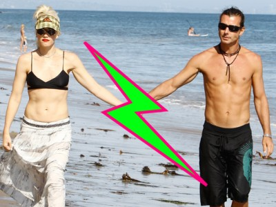 Gwen Stefani divorce 400x300 Gwen Stefani Gavin Rossdale CALL IT QUITS After 13 Years of Marriage