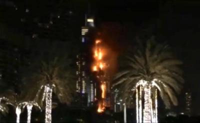 High-Rise Fire In Dubai 3