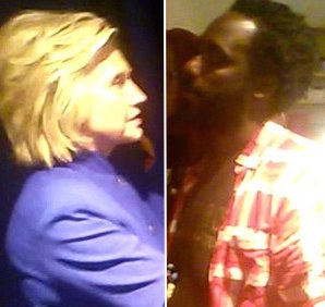 Hillary Clinton HEATED Moments With BlackLivesMatter Member