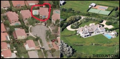 Hillary Clinton House Compared To Marco Rubio house