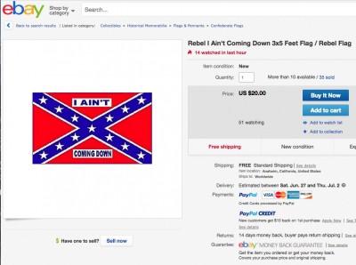 I Ain't Coming Down rebel Confederate flag  ebay