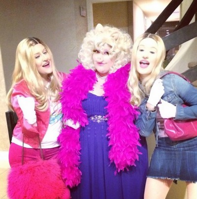 Iggy Azalea Wins Halloween With Wayans White Chicks Costume 2