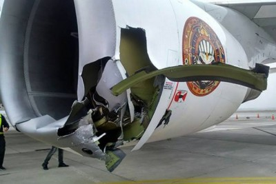 Iron Maiden jet Ed Force One accident