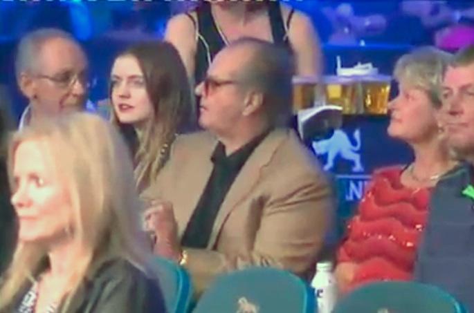 Jack Nicholson Pacquiao vs Bradley