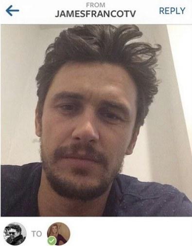 James Franco instagram hookup