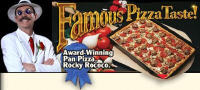 James Martin Pedersen Rocky Rococo Pizza dead