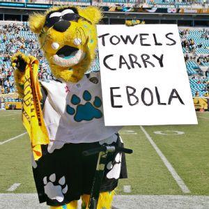 Jaxson de Ville ebola sign