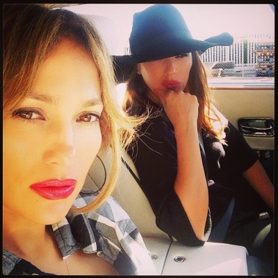 Jennifer Lopez Leah Remini  dui