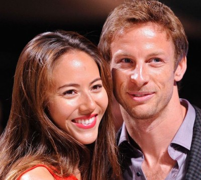 Jenson Button gassed robbed wife