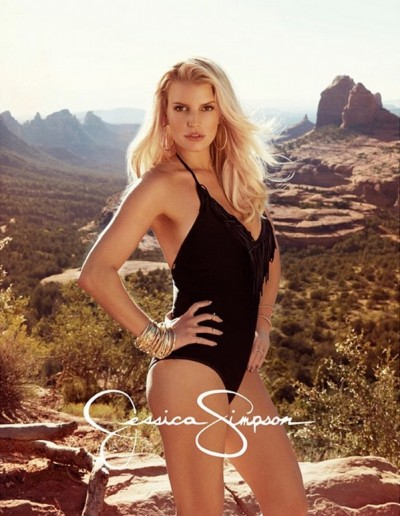 Jessica Simpson sedona bikini collection