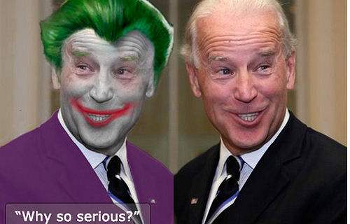 Joe Biden the joker Joe Biden As Batmans JOKER