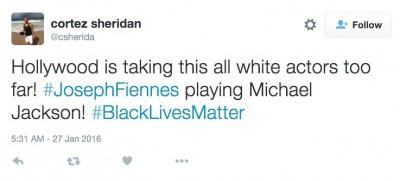 Joseph Fiennes as michael jackson 2