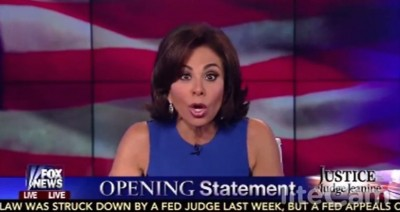 Judge Jeanine obama ebola 3 400x212 Judge Jeanine On Ebola Strategy: You Dont Know What The Hell Youre Doing