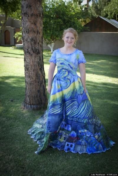 Julia Reidhead prom dress 2