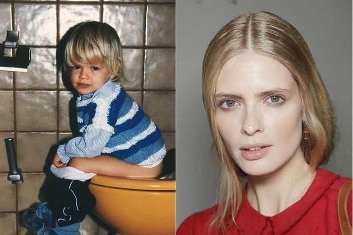 Julia Stegner TOP FASHION MODELS When They Were Young