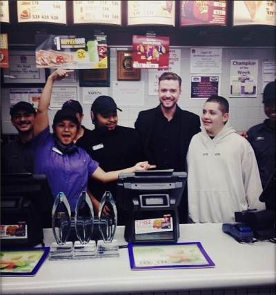 Justin Timberlake Taco Bell 2