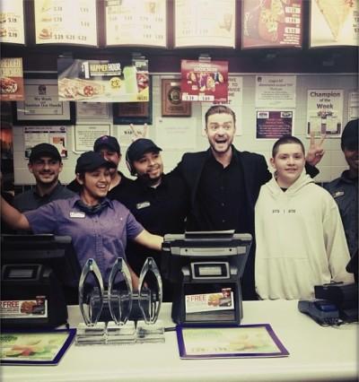 Justin Timberlake Taco Bell