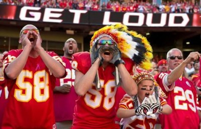 Kansas City Chiefs crowd noise 3