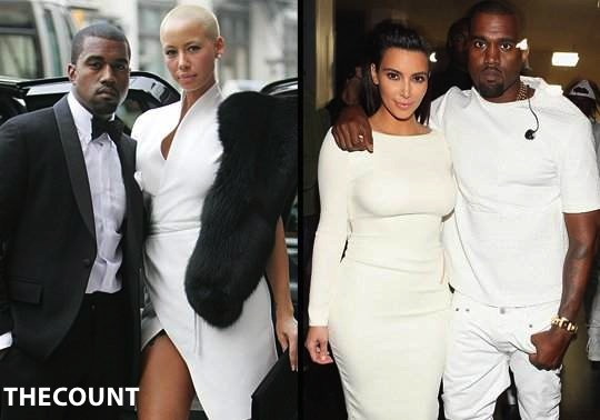 Kanye Kanye West NEW SONG White Dress Is About Kim K Or Amber Rose?