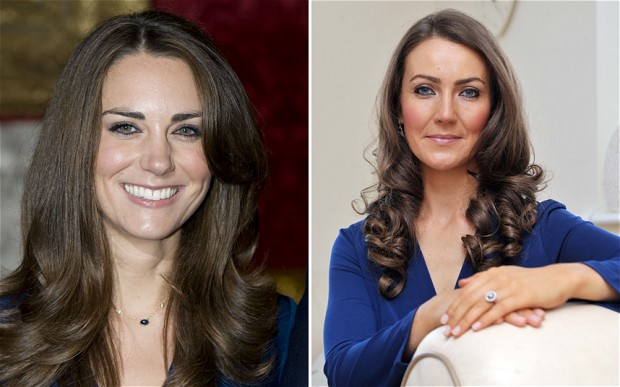 Kate Middleton Impersonator Recreates Pregnancy for More Authenticity BBC 2 Kate Middleton Doppelganger Goes Extra Mile With Prosthetic Baby Bump