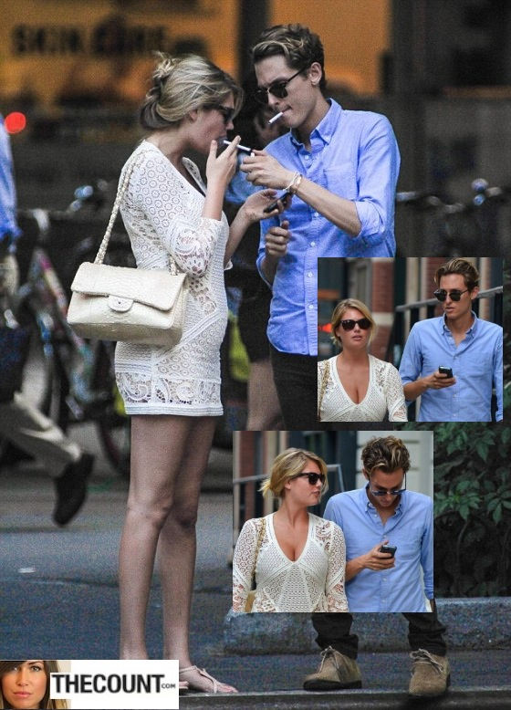 Kate Upton seen out in NYC 12 560x778 KATE UPTON: SMOKER