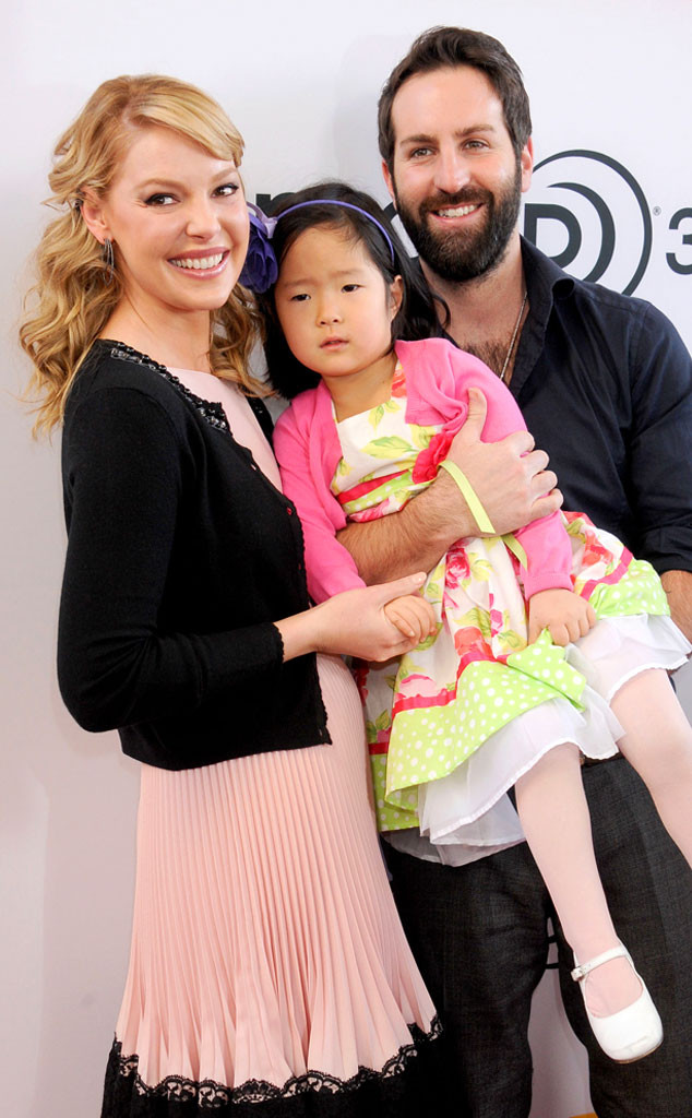 Katherine Heigl  5-year-old daughter Naleigh