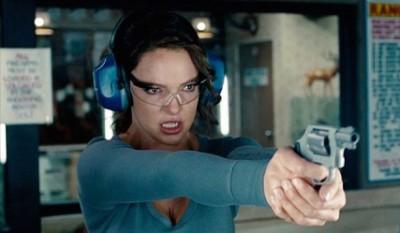 Katherine Heigl Gun Range