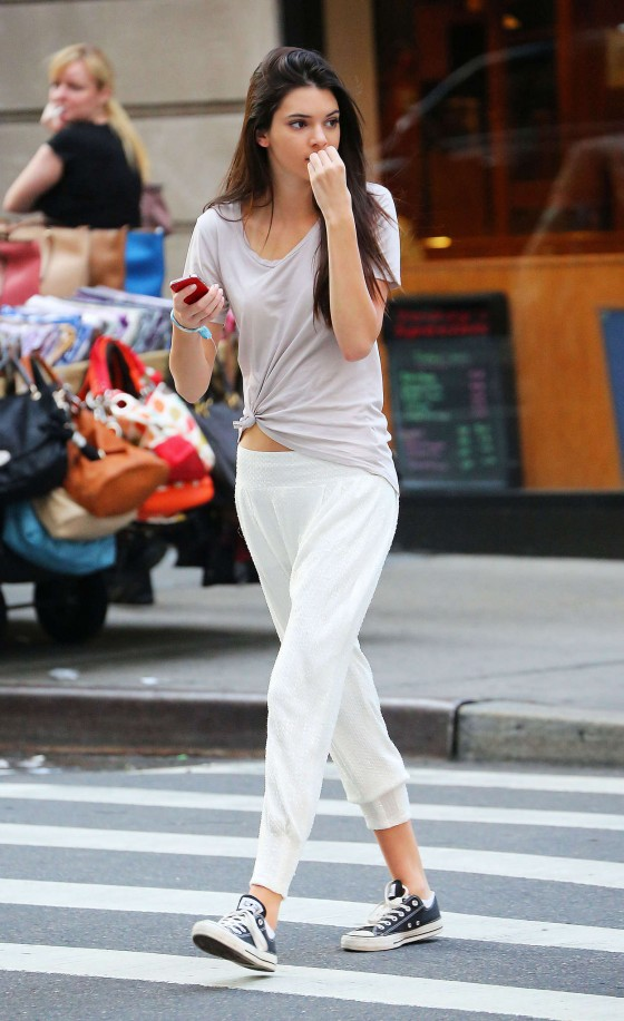 Kendall Jenner Wearing Paper Towel Pants?