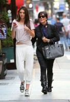 Kendall Jenner - With Her Mom in NYC-03-560x816