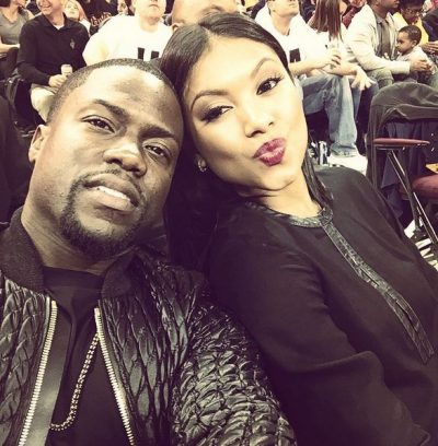 Kevin Hart has married Eniko Parrish wedding