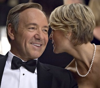 Kevin Spacey and Robin Wright