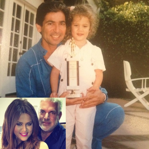Khloe-Kardashian-Poses-With-Trophy-In-Old-School-Pic-With-Her-Dad-580x580
