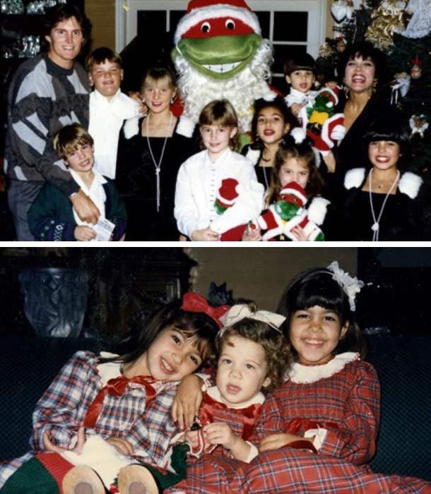Kim-Kardashian-Family-Christmas-Cards-Pictures