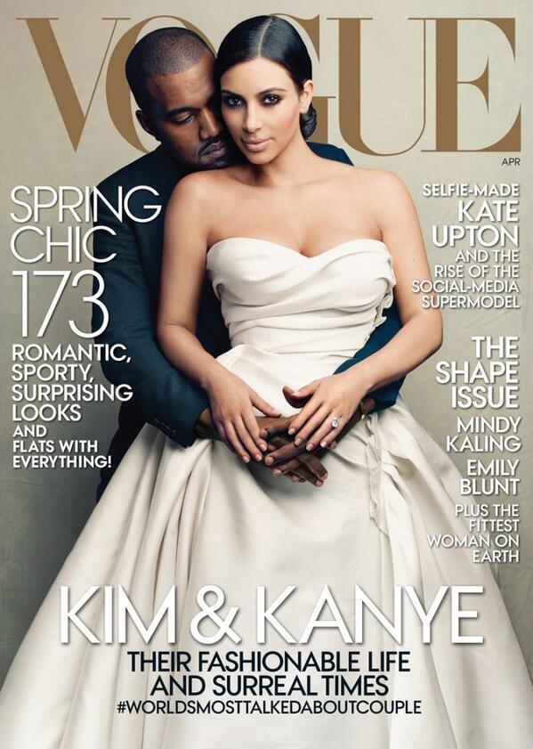 Kim Kardashian gets her Vogue cover