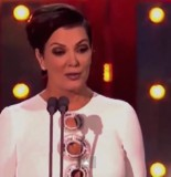 Kris Jenner presenting 2015 British National Television Awards held at O2 Arena 155x160 Kris Jenner Seriously Blows It Presenting British Awards Show (VIDEO)
