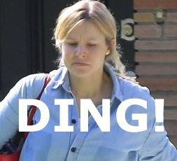 Kristen bell unrecognizable no makeup fashion disaster thecount com