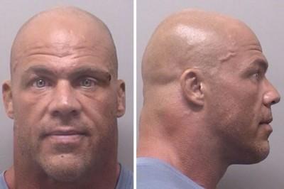 Kurt Angle DUI mugshot