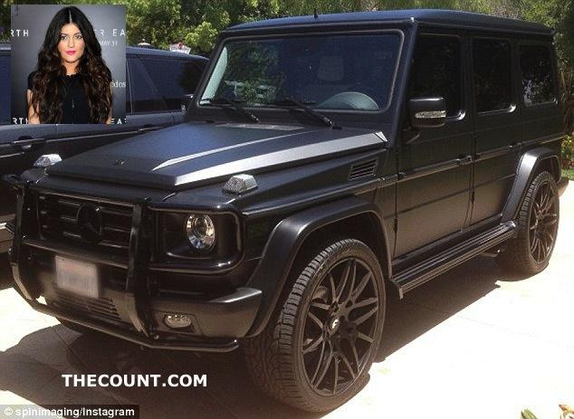 Kylie Jenner 125000 car