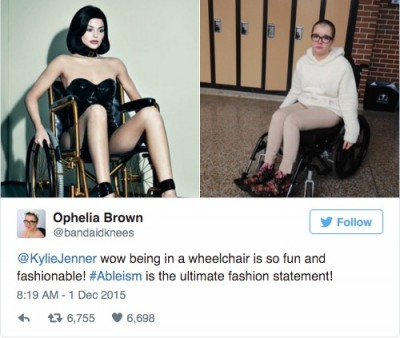 Kylie Jenner Wheelchair Photos sick