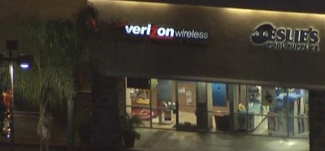 LA Verizon Store Hostage Drama LIVE NOW