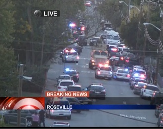 LIVE NOW Police Officers shot Roseville California  LIVE NOW: Police Officers shot, Roseville, California