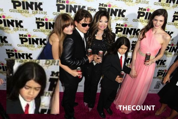LaToya+Jackson+Prince+Paris+Blanket+Jackson+5dhKY5aOeFKl BLANKET MAD! Forced By La Toya To Endorse Energy Drink