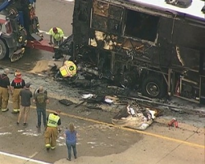 Lady Antebellum tour bus fire tx 4