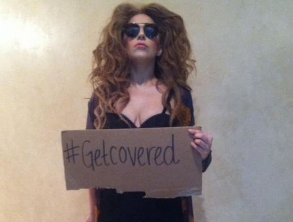 Lady Gaga-get covered