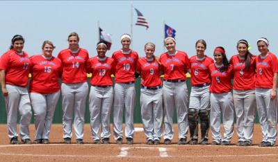 Lady Rebels Softball team 5