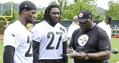 Le'Veon Bell LeGarrette Blount 400x213 TWO Steelers Star Running Backs ARRESTED